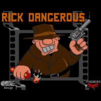 Ecran de chargement de Rick Dangerous
