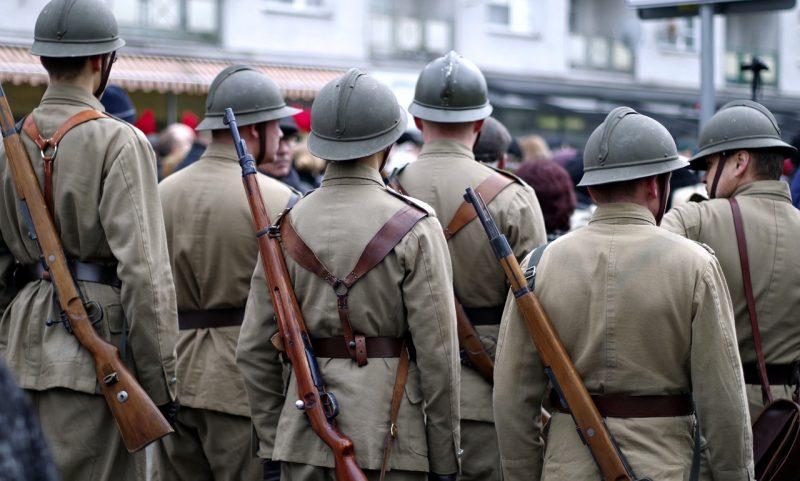 Soldats première guerre mondiale